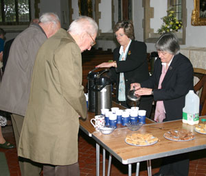 Coffee time at St. Mary's
