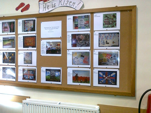 Amazing artwork by our youngsters.