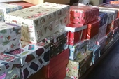Shoeboxes galore and so much more!
