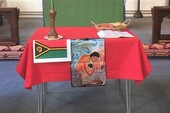The table that represented the people of Vanuatu