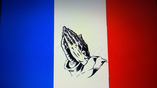 For the people of France.