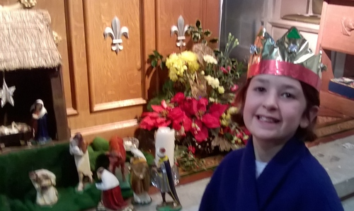 So happy to see the baby Jesus