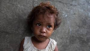 Half the world's children live in poverty - picture from www.care.org
