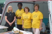 Revd. Carolyn and the Methodist Ministry Team