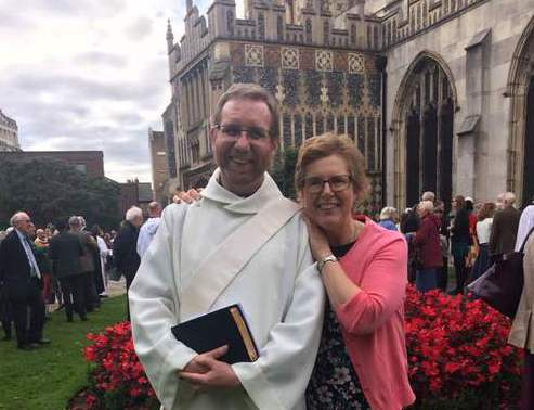 Philip was ordained in the afternoon