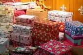 Christmas boxes for deprived children