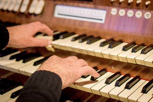 A concert in aid of the organ fund