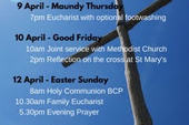All our Easter Services