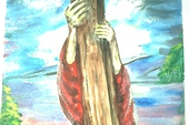 To the cross I cling.